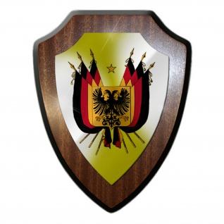 Wappenschild Wappen Deutsches Reich 1848 Deutschland Adler Emblem#36029