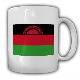 Malawi Fahne Flagge Republic of Malawi Südafrika Kaffee Tasse #13732
