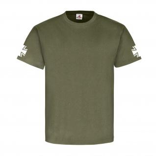 Bundeswehr Bw EK Balkenkreuz Streitkräfte Militär - T Shirt #2998