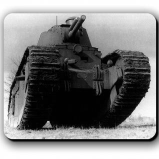 Char FCM 2C Panzer Frankreich Char de Rupture Durchbruchpanzer - Mauspad #13780
