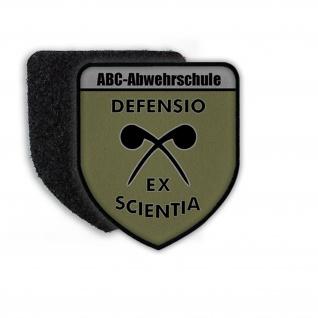 Patch ABC-Abwehrschule Bundesheer Tarn ABCAbwS Korneburg Aufnäher Wappen#21695