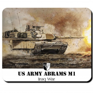 Mauspad Lukas Wirp M1 Us Tank Panzer USA Druck Amerika Fahne Flagge #23558