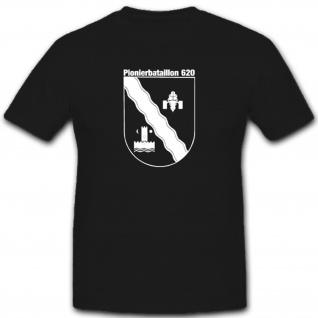 Pionierbataillon 620 Einheit Wappen Abzeichen Emblem Spibtl - T Shirt #2600
