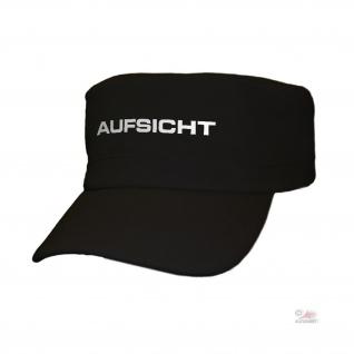 Army Kappe Aufsicht Reflektierend Cap Bundeswehr Dienstkleidung Amt#36649