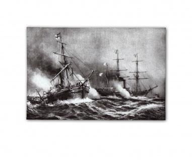Poster Schlacht von Bouvet und Meteor Seegefecht Havanna ab 30x20cm #31049