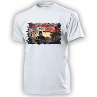 Prepper i'm ready for Prepper Überleben Apocalypse Survival T Shirt #17628