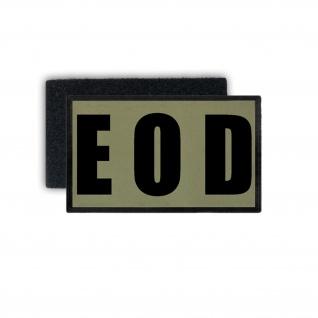 EOD Kampfuniform Patch Explosive Ordnance Disposal Aufnäher 7, 5x4, 5 #37568