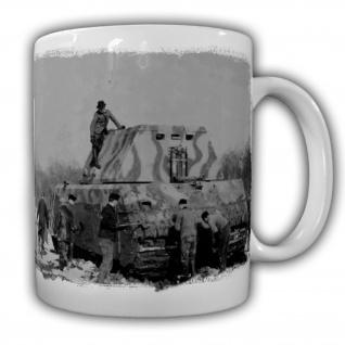 Tasse Prototyp PZ Panzer Maus Wh Deutschland Militär Böblingen 190 Tonnen#20941