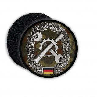 Patch BW Instandsetzung Inst Barett Abzeichen Bundeswehr Aufnäher Werkzeug 20881
