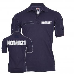 Tactical Polo Notarzt reflektierend Dr Arzt Rettungsdienst Hemd Bekleidung#23443