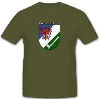 PzGrenBtl 421 Panzergrenadierbataillon 421 Bundeswehr Deutschland T Shirt #9056