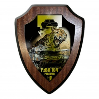 Wappenschild Lukas Wirp Panzerbataillon 104 Bundeswehr Pfreimd Leopard #24422