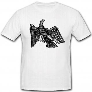 Preußen Adler alt Wk Wh Wappen Abzeichen Emblem T Shirt #2147