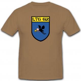 Ltg62 Lufttransportgeschwader Bundeswehr Wappen Abzeichen Heer - T Shirt #3615