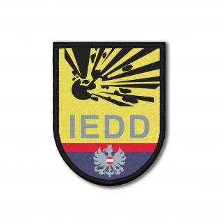 Patch IEDD Polizei Entschärfungsdienst Österreich Aufnäher 9x7cm #26190