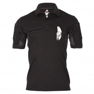 Tactical Poloshirt Alfa Sparta Komm und hol Sie dir Helm 300 König #19196