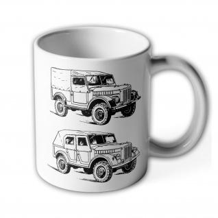 Tasse GAZ-69 Kaffee Becher #36829