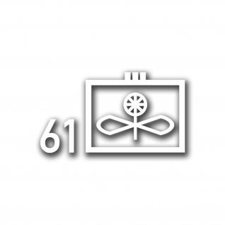 Taktische Zeichen Lufttransportgeschwader 61 Penzing LTG Aufkleber 13x7cm A5055