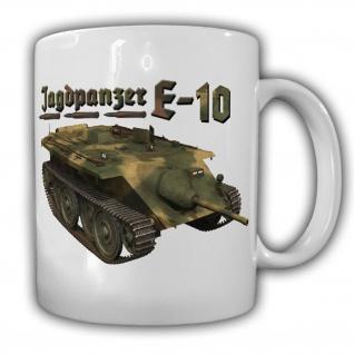 E-25 Jagdpanzer Wh Wk Jaguar Panzerjäger Deutschland PzFz E-Serie - Tasse #12429