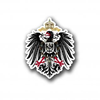 Aufkleber/Sticker Adler Preußen Wappen Deutschland 10x8cm A5219