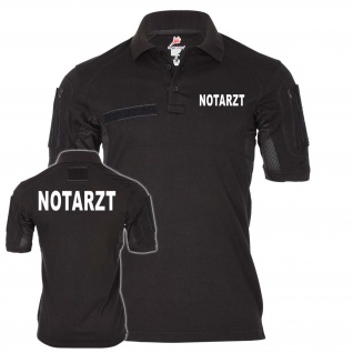 Tactical Poloshirt Notarzt Rettungsdienst Retter Ersthelfer Arzt Doktor #24956
