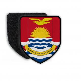 Patch Flag of Kiribati Flagge Zeichen Wappen Landesflagge Aufnäher #21338
