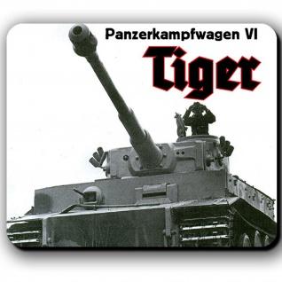 Mousepad Panzerkampfwagen VI Tiger Panzer Abteilung Legende aus Stahl #13793