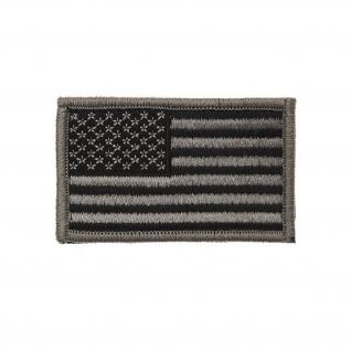 USA black Flag Patch Amerika FLAGGE gestickt Aufnäher Uniform #17403 - Vorschau