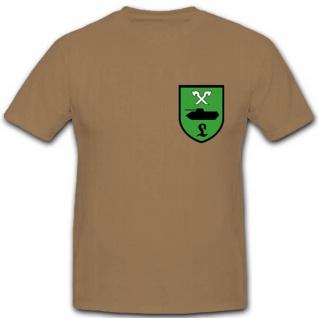 Bundeswehr Einheit Wappen Abzeichen Emblem Brust T Shirt #1925