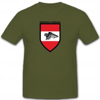 Wappen Emblem Abzeichen Österreichischen Heereskraftfahrschule - T Shirt #3906