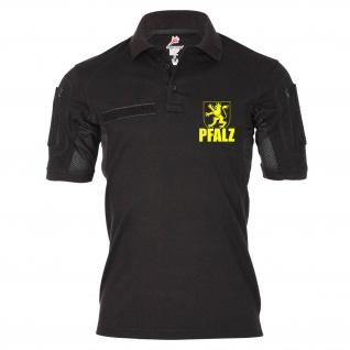 Tactical Poloshirt Alfa - Pfalz die Besten Pfälzer Wappen RP Löwe Heimat #18989