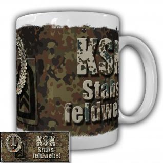 Tasse KSK Stabsfeldwebel der Kommandospezialkräfte Becher Bundeswehr#20924