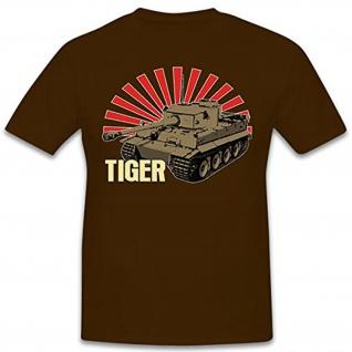 TIGER-Panzer Wh Legende Wk Kampfpanzerwagen VI Deutschland - T Shirt #11202