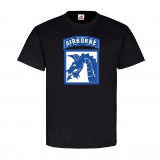 XVIII Airborne Corps 18 ABC SSI US Army Militär Schulterabzeichen T Shirt #9688