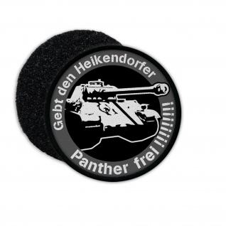 Patch Heikendorf Panther Panzer Fund Militaria Sammler Aufnäher #23563