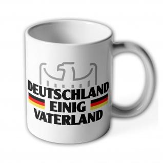 Deutschland Adler BRD Bundeswappen Staatswappen Wappen - Tasse #8646
