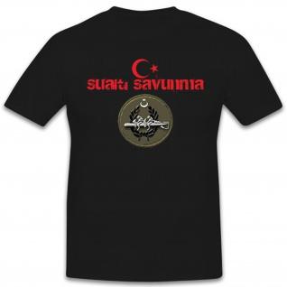 SAS Savunma Abzeichen Wappen Logo Türkiye Türkei Armee EOD- T Shirt #12628