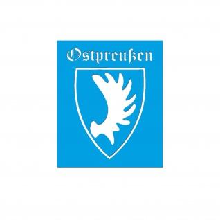 Lackierschablone Ostpreußen 20 x 15 cm #A5603