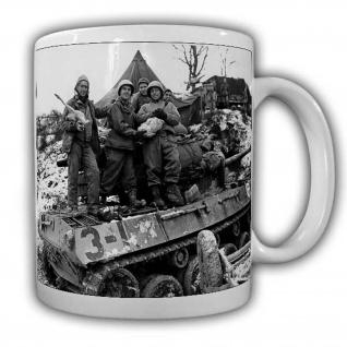 US Panzer Tasse Kaffeebecher Soldaten Militär Army Jagt #22511