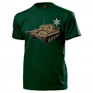 Henschel & Sohn TIGER Panzer Hersteller Logo Kassel - T Shirt #14085