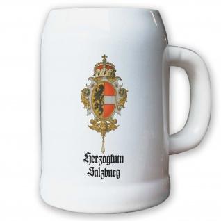 Krug / Bierkrug 0, 5l - Herzogtum Salzburg Kurfürstentum Österreich Herzog #9465