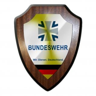 Wappenschild Bundeswehr Wappen Logo Abzeichen WDD Andenken #37200