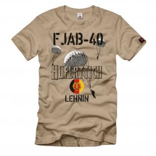 LStR 40 Lehnin Luftsturmregiment NVA DDR Fallschirmjäger Willi - T Shirt #25772