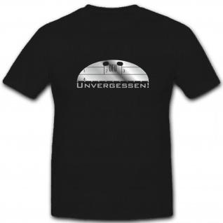 Unvergessen Bundeswehr Erkennungsmarke Gefallenen - T Shirt #5863
