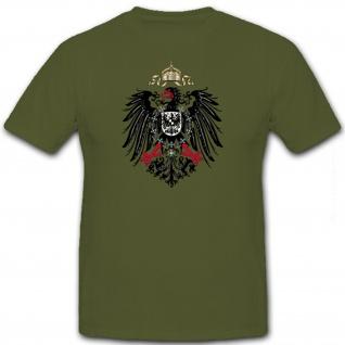 Preußischer Adler Preußen Deutschland Hoheitsabzeichen - T Shirt #8463