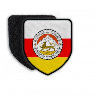 Patch Flag of South Ossetia Flagge Land Wappen Staat Zeichen Aufnäher #21356