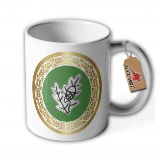 Tasse Einzelkämpfer Bundeswehr Abzeichen Kaffee Becher Haferl #36266