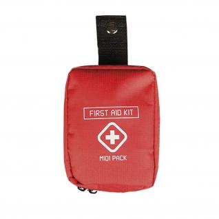 First Aid Kit Midi Notfall Sicherheit Medipack Sanitäter Medizin Outdoor #22997