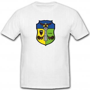1 Zug Sicherungsstaffel Flugkörpergeschwader 2 Militär Luftwaffe- T Shirt #4029