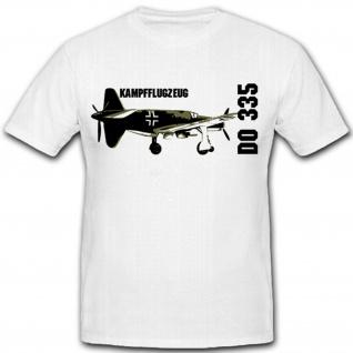 Kampfflugzeug DO 335-Luftwaffe Deutschland- T Shirt #8131